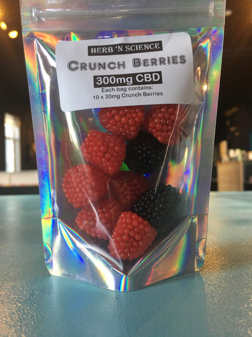Crunch Berry CBD Gummies