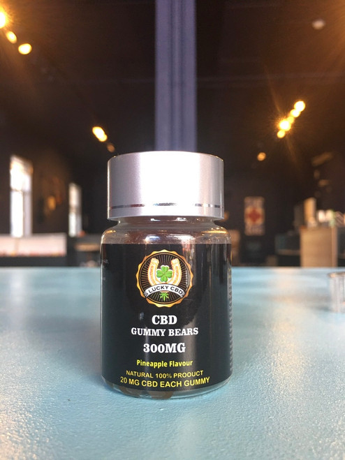 Lucky CBD Gummy Bears Pineapple