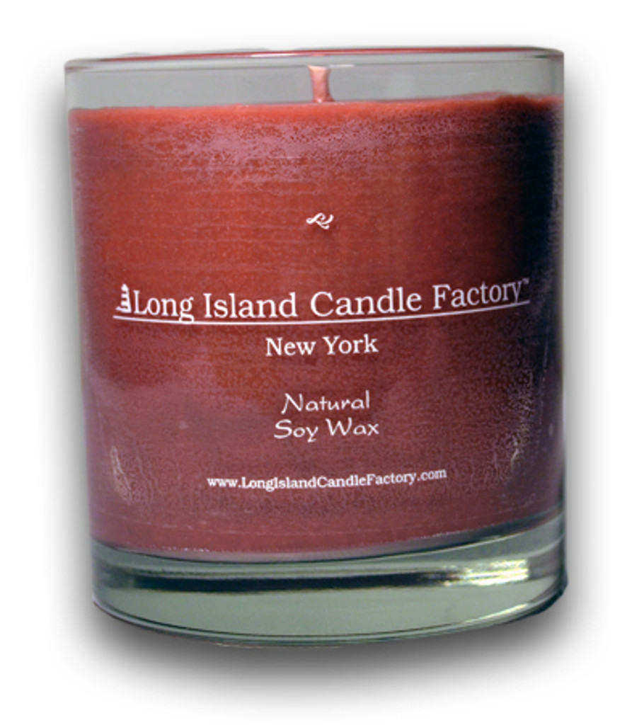 Vintage Leather   Wooden Wick Candle