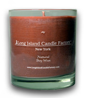 Cocoa Amber   Wooden Wick Candle