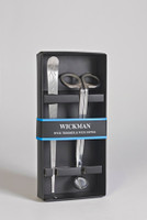 Wickman Stainless Steel Wick Trimmer with Wick Dipper ~ Gift Box