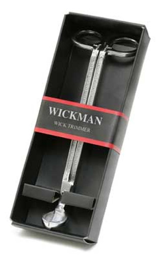 Wickman Stainless Steel Silver Wick Trimmer ~ Gift Box