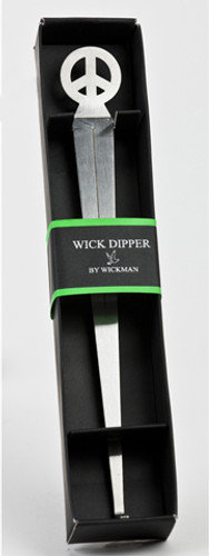 Wickman Wick Dipper with Peace Sign Handle