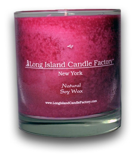 Hot Pink Tulip | Wooden Wick Candle