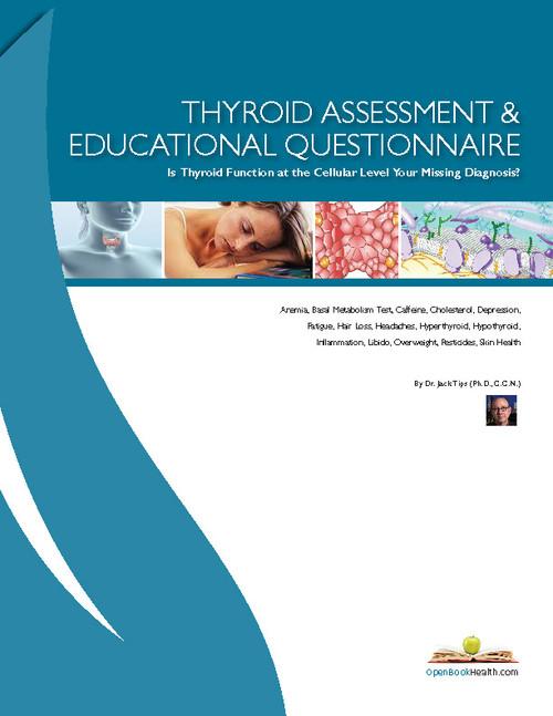 Thyroid Questionnaire by WellnessWiz Jack Tips