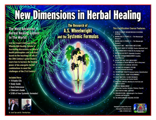New Dimensions In Herbal Healing Training Course