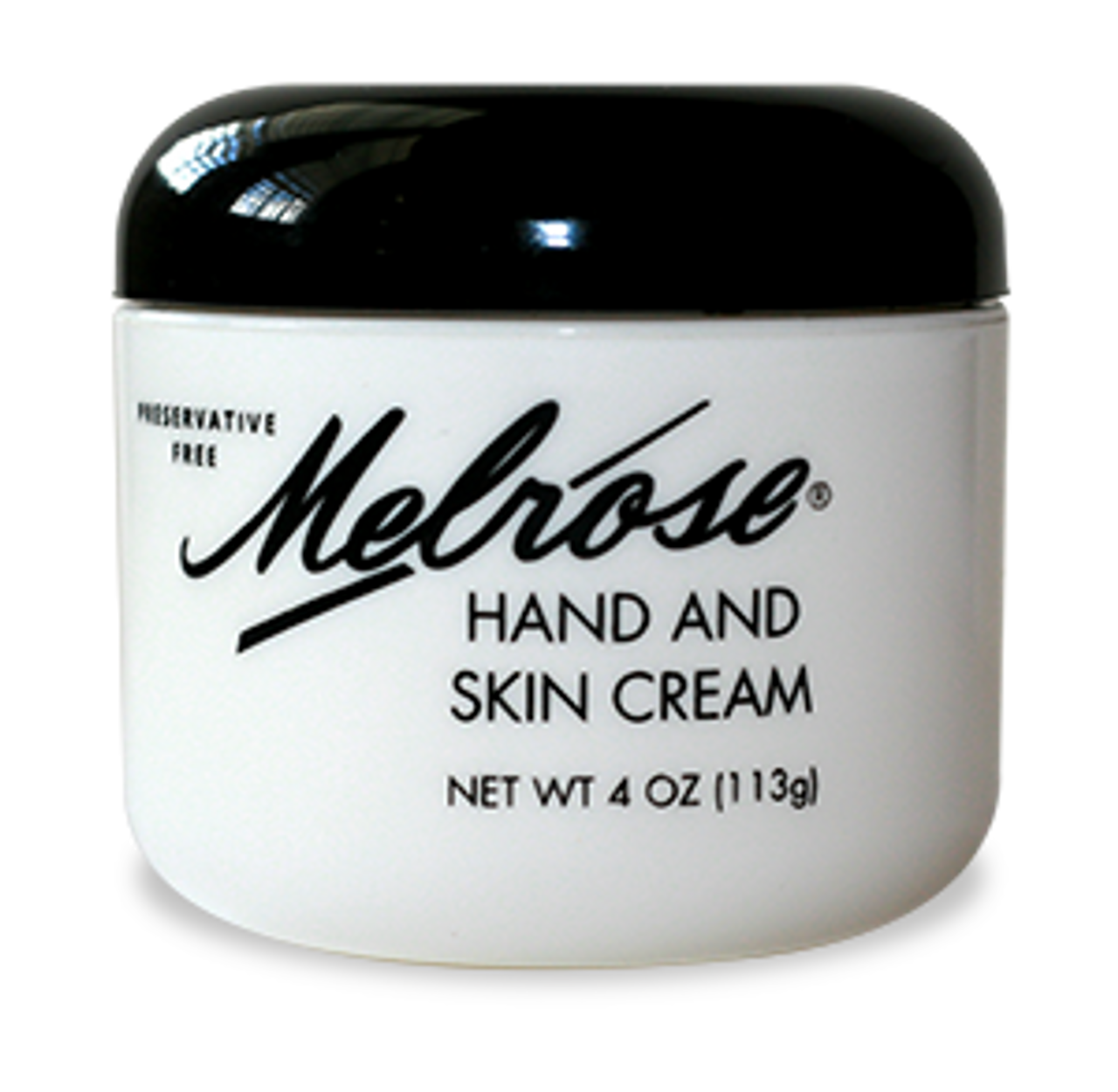 Melrose Hand and Skin Cream Jar