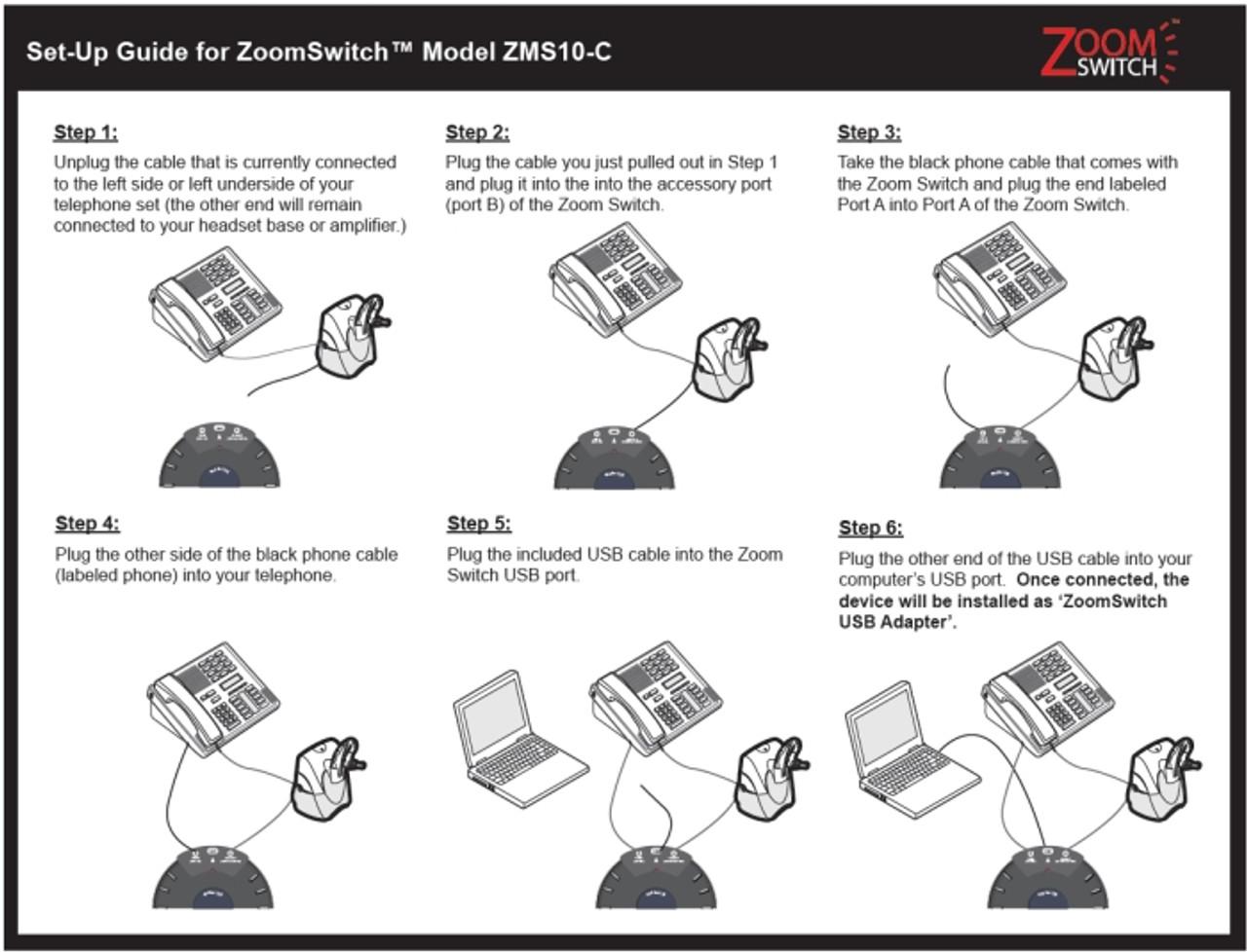 NEW! Zoom Switch ZMS20-UC Network Device