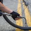 Blackburn Core Slim Mini Bike Pump - Pumping