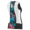 Louis Garneau Women's Pro Carbon Sleeveless Tri Top - Tropical - Back
