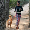 Nathan K9 Series Runner's Waistbelt with Dog Leash - Running