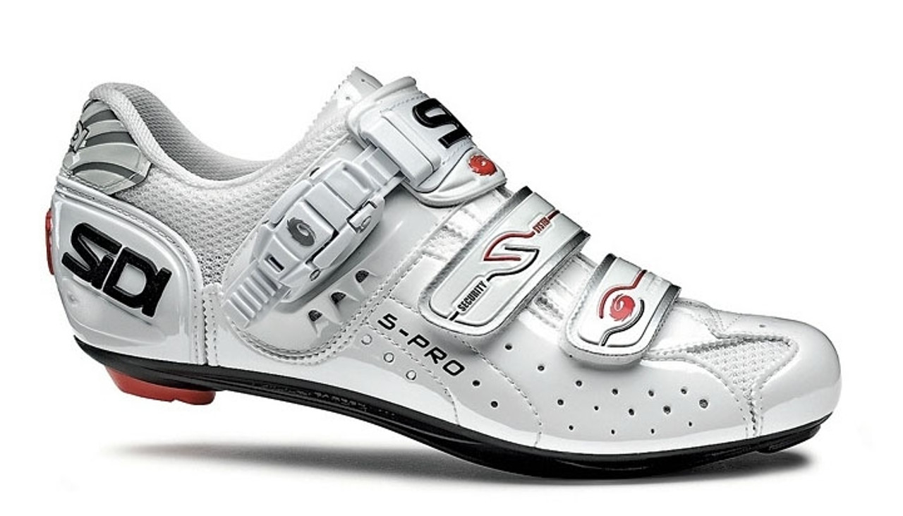 White//White New SIDI Genius 5 Fit Carbon Road Bike Bicycle Cycling Shoes