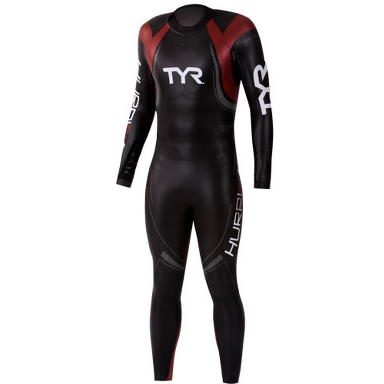 658244766fe5b REPAIRED  TYR Men s Hurricane Category 5 Wetsuit - Size XL - Triathlete  Sports