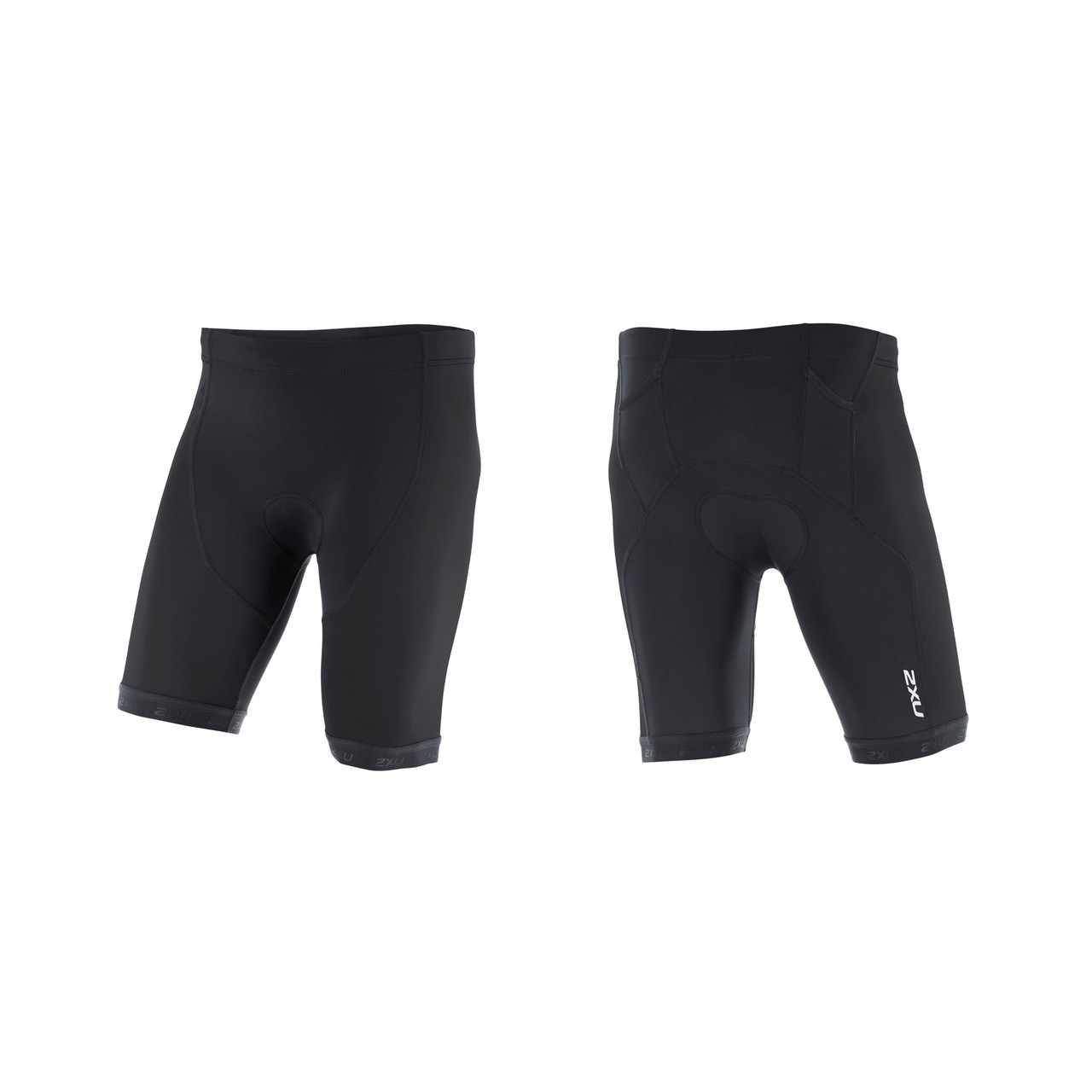 Black 2XU Active Mens Tri Shorts