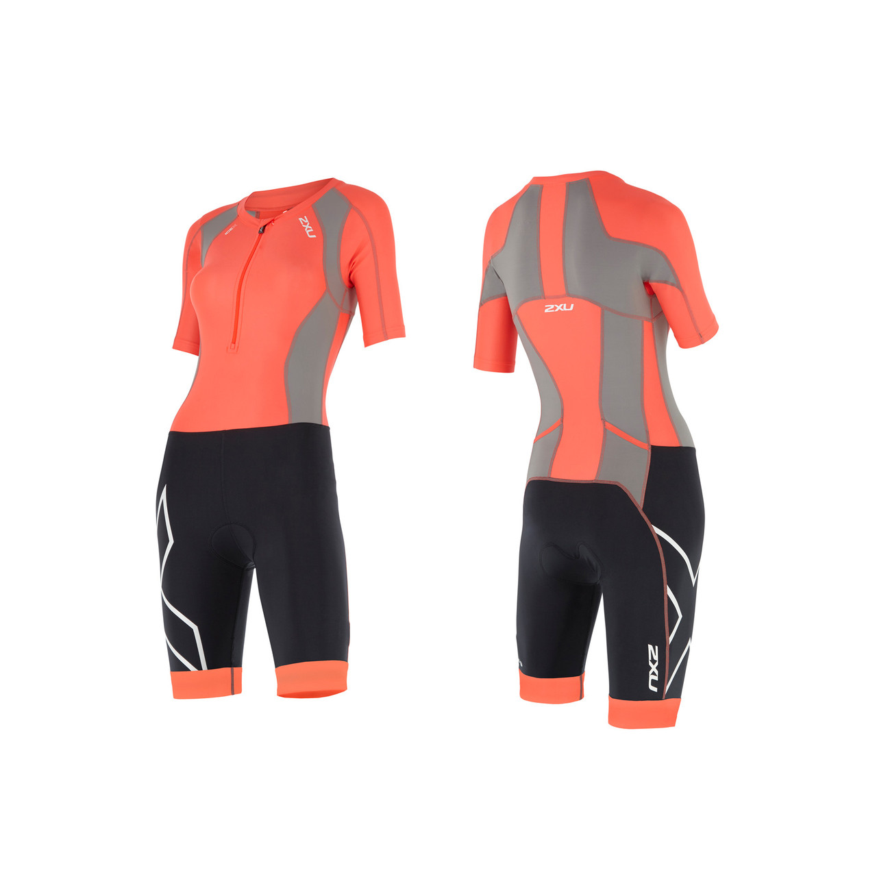 b7a7bceff4d 2XU Women's Compression Sleeved Tri Suit