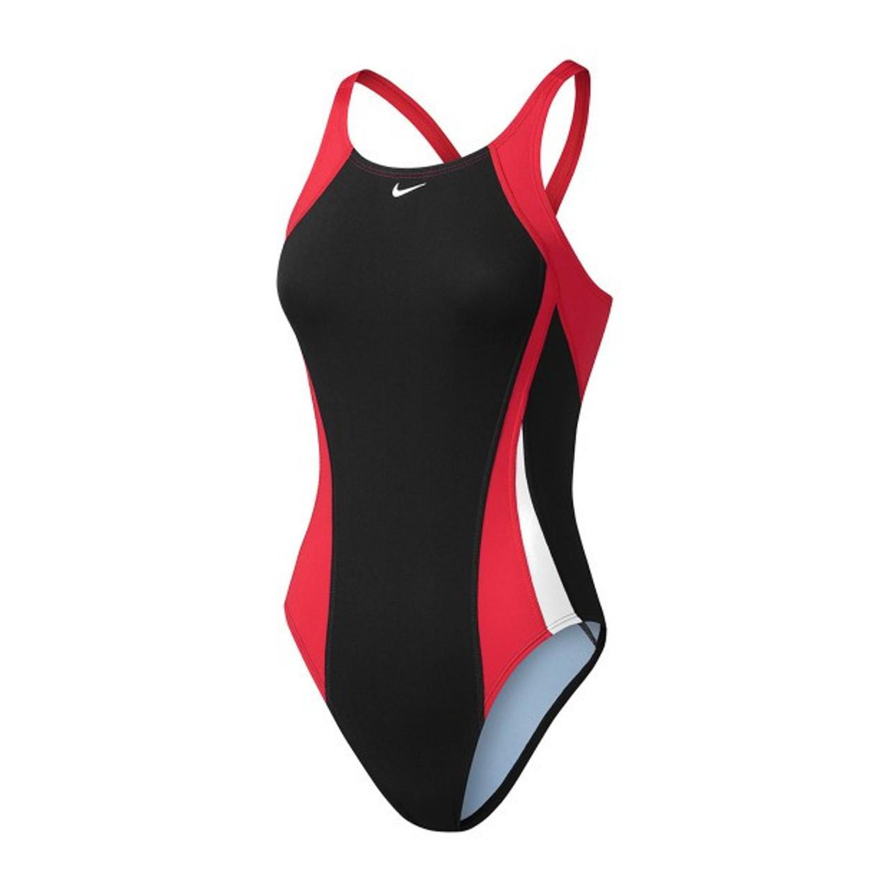 1bd486b1b26 Nike Women's Poly Core Surge Fastback Tank Swimsuit