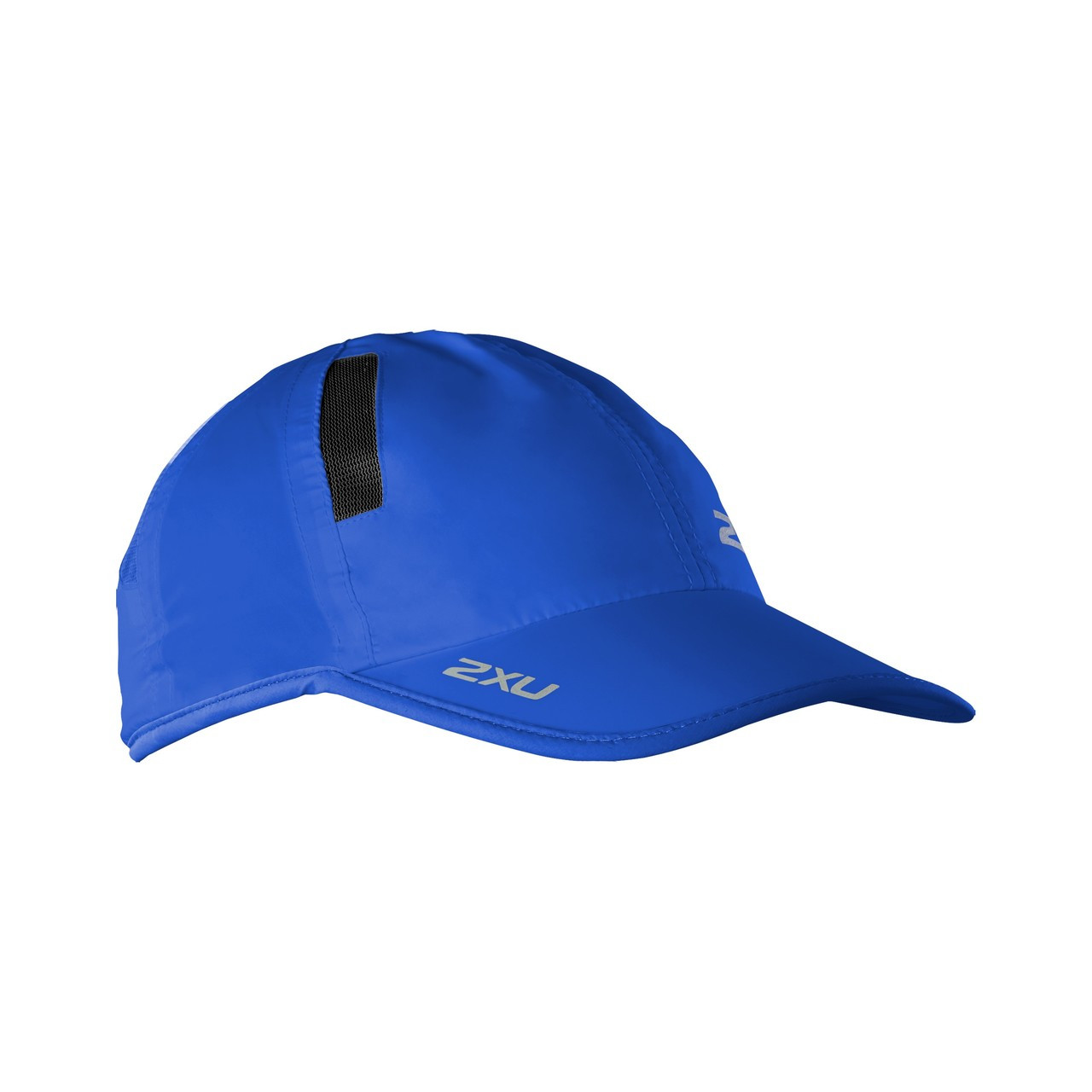 2XU Running Visor Blue Breathable Lightweight UV Protection Quick Dry Race Hat