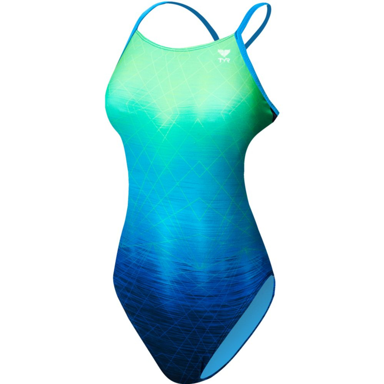 a1868b776 TYR Women's Kinematic Cutoutfit Swimsuit