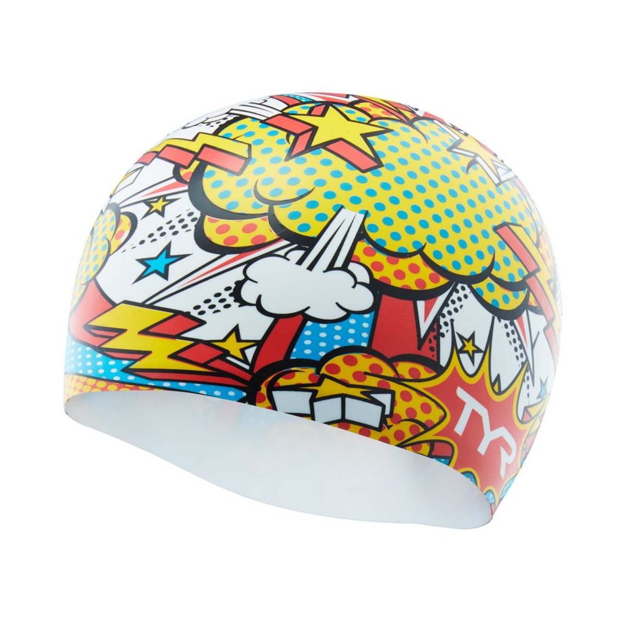 TYR Comic Action Silicone Swim Cap 5521cc796
