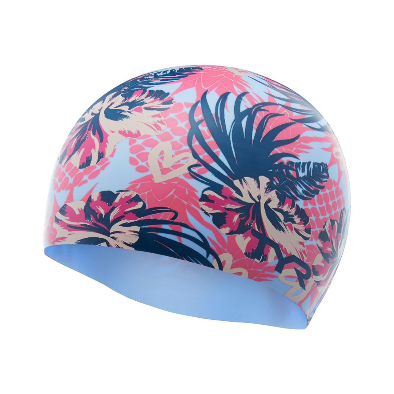 2a223f717e62cf TYR Pineapple Punch Silicone Swim Cap
