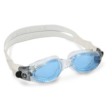 Aqua Sphere Kaiman Swim Goggles With Blue Lenses For Smaller Faces