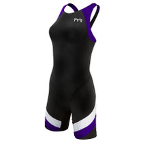 TYR Women's Carbon Aero Back Short John Tri Suit