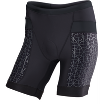 "TYR Men's 7"" Competitor Tri Short - Black"