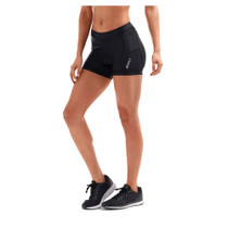 "2XU Women's Active 4.5"" Tri Short - Black"