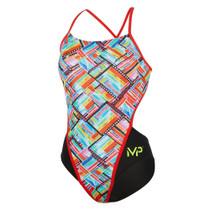 Aqua Sphere Women's Michael Phelps Subway Racing Back Swimsuit
