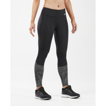 2XU Women's Reflect Mid-Rise Compression Tight with Storage