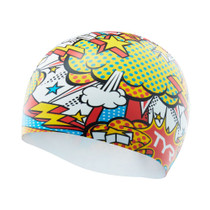 TYR Comic Action Silicone Swim Cap