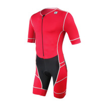 DeSoto Men's Mobius Short Sleeve Tri Suit