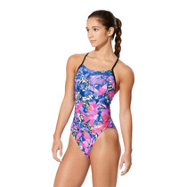Speedo Women's Geo Flyte Fit Back Swimsuit