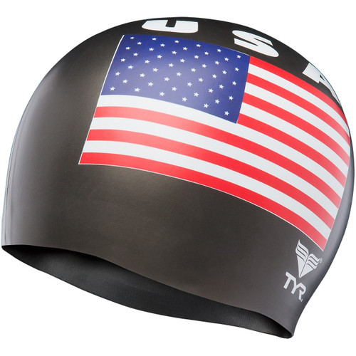 TYR USA Print Latex Cap