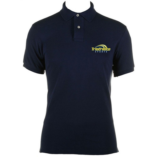 Triathlete Sports Logo Polo