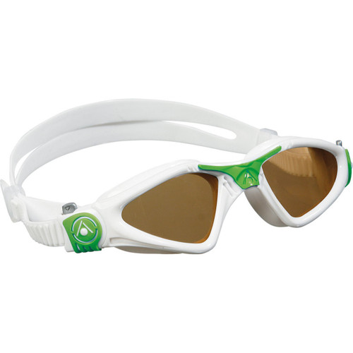 Aqua Sphere Kayenne Goggle with Polarized Lens for Smaller Faces