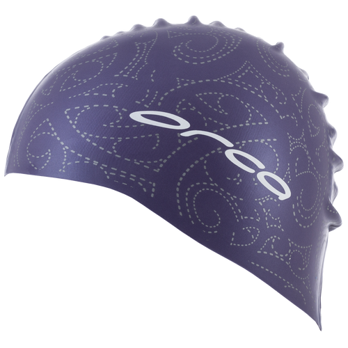 Orca Silicone Swim Cap with Print