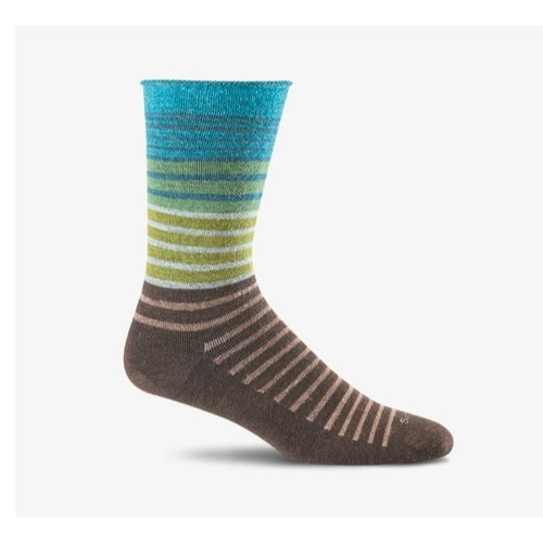 Sockwell Women's Plantar Ease Crew Compression Sock