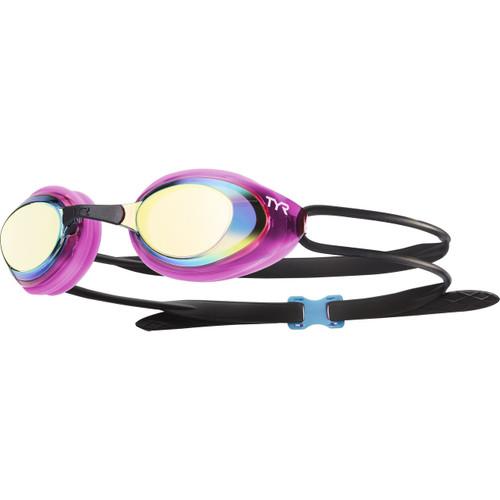 TYR Women's Blackhawk Racing Femme Mirrored Goggle