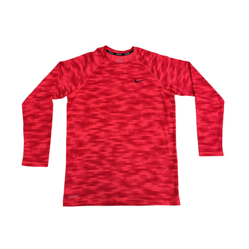 Nike Men's Blurred Long Sleeve Hydroguard
