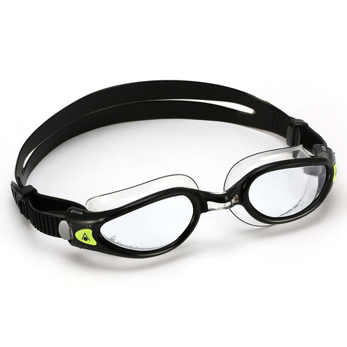 Aqua Sphere Kaiman EXO Goggle with Clear Lens for Smaller Faces