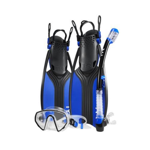 TYR Voyager Mask Snorkel Fin Set
