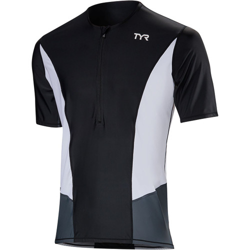 TYR Men's Competitor Short Sleeve Tri Top