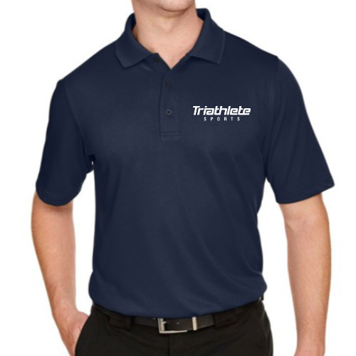 Triathlete Sports Unisex Tech Polo