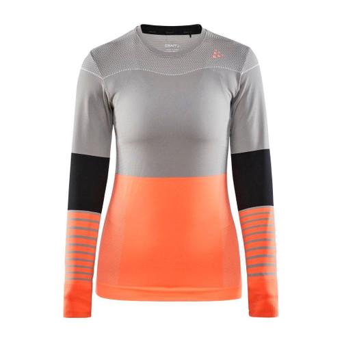 Craft Women's Fuseknit Comfort Blocked Long Sleeve Baselayer Top