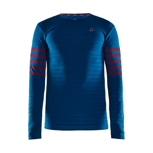 Craft Men's Fuseknit Comfort Blocked Long Sleeve Baseylayer Top
