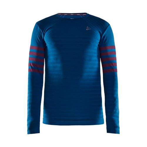Craft Men's Fuseknit Comfort Blocked Long Sleeve Baseylayer Top