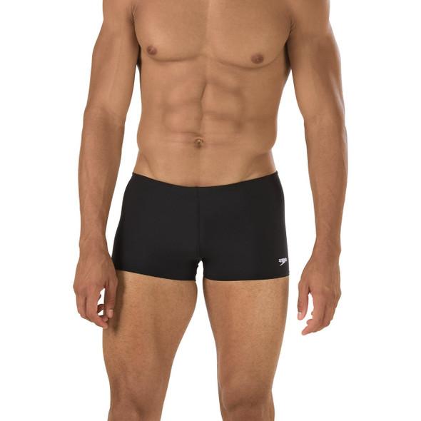 Speedo Men's Solid Endurance Square Leg