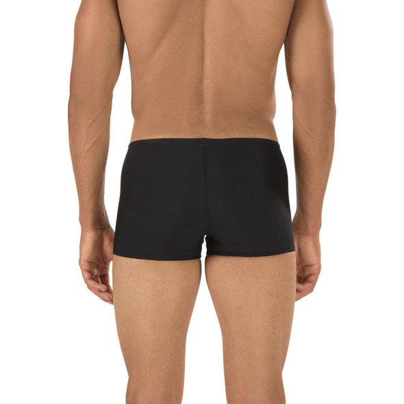 Speedo Men's Solid Endurance Square Leg - Back