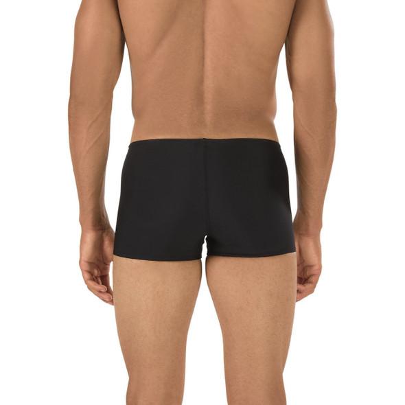 Speedo Men's Solid Endurance Square Leg - Back